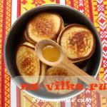Кукурузные оладьи - рецепт