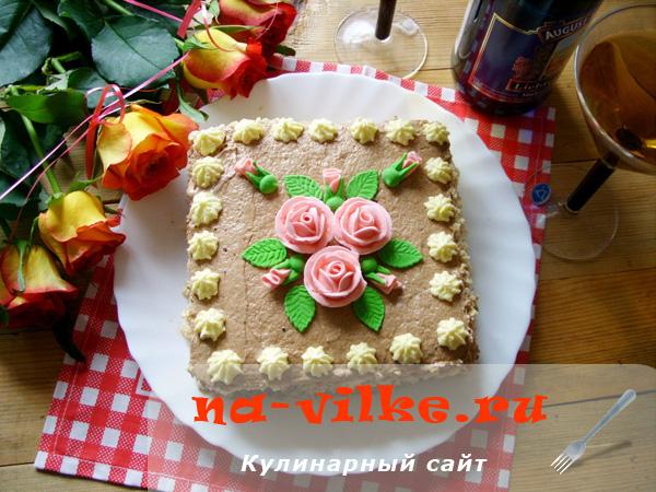 Киевский торт квадратной формы