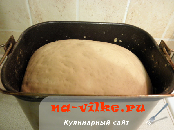 Хлеб из хлебопечки Moulinex OW110E