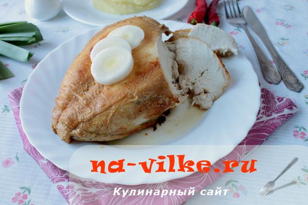 Готовим аппетитную куриную грудку в рукаве