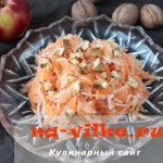 Как приготовить овощной салат из редиса дайкон