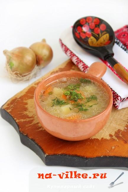 Приготовление вкусного супа со свининой и затиркой