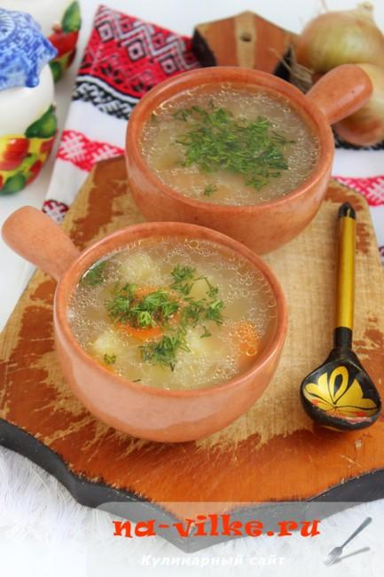 Крестьянский суп Затирка