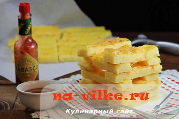 Приготовление итальянской поленты с сыром