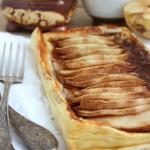 Сладкий пирог с грушей и шоколадом