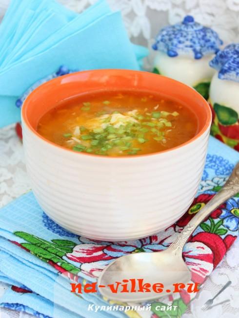 Суп с белой фасолью и мелкой пастой (Soupe au pistou)