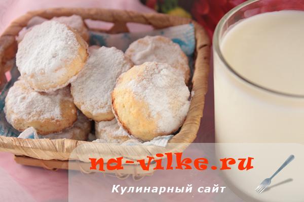 Нежное и рассыпчатое творожное печенье домашнего приготовления