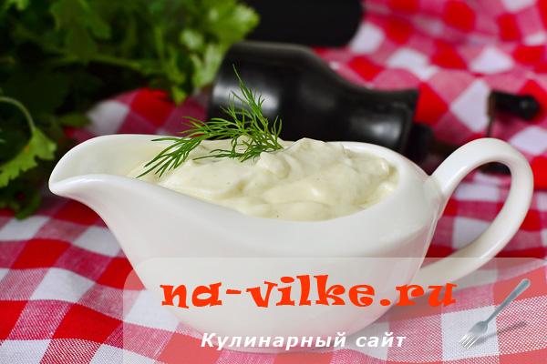 Рецепт классического сливочного соуса