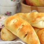 Рецепт булочек с яблочной начинкой