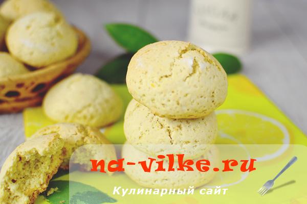 Печенье с лимонной цедрой в духовке – быстро и вкусно