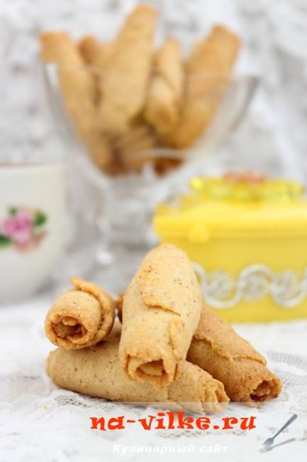 Печенье постное из поленты