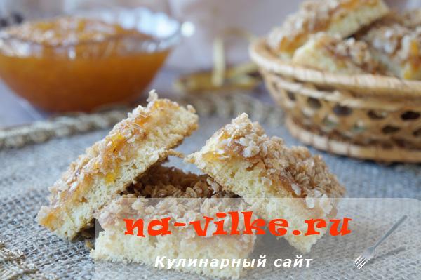 Нарезное бисквитное печенье