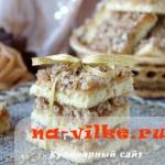Рецепт мягкого домашнего нарезного печенья с повидлом