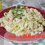 Рецепт простого и вкусного салата с пекинской капустой и тунцом