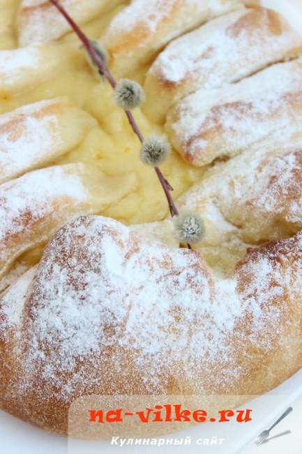 Датский пасхальный хлеб