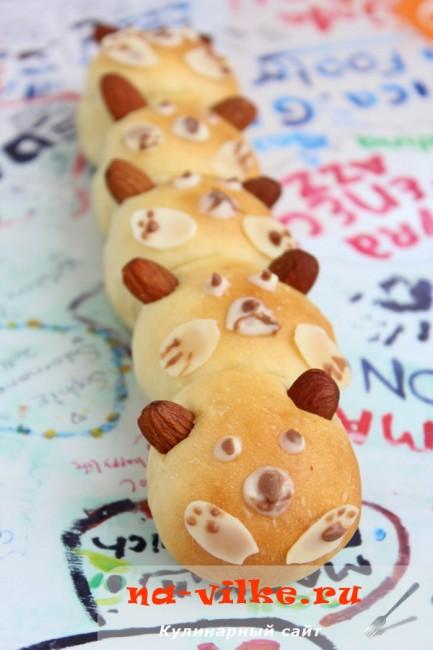 Медовые булочки для детей