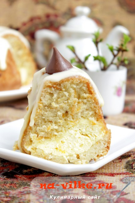 Морковный кекс с творогом