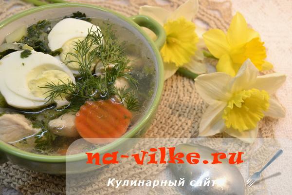 Готовим вкусные русские щи из молодой крапивы