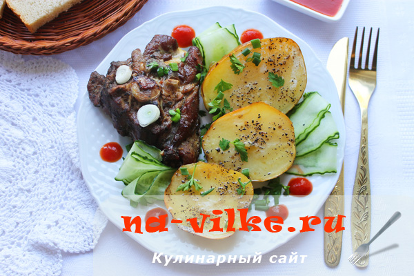 Баранина с молодым картофелем