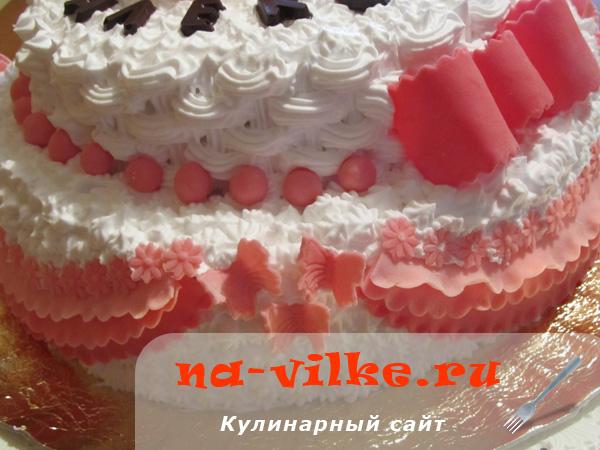 Пинетки из мастики для украшения торта