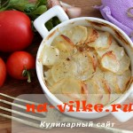Запеченный картофель Буланжер