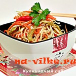 Рецепт приготовления пикантной капусты маринованной по-корейски
