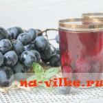 Вкусный виноградный компот в домашних условиях