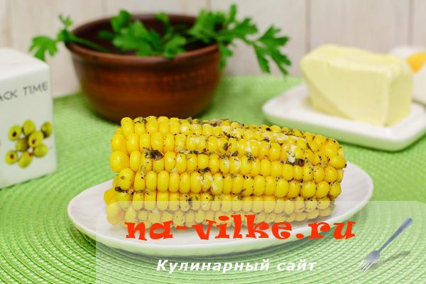 Кукуруза на пару в мультиварке