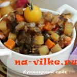 Рагу из овощей в духовке