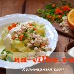 Пюре из картошки со сметаной