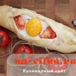 Турецкая пиде с сыром