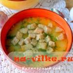 Постный суп из гороха в мультиварке Редмонд