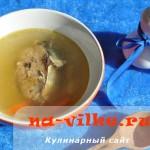 Суп из консервированной в масле сардины