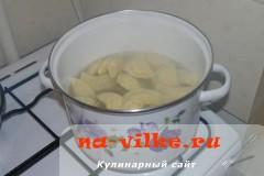 Вареники с сырой картошкой