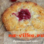 Гречнево-творожное печенье из хлопьев в духовке