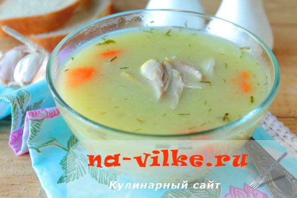 Варим диетический куриный суп с курицей и овсяными хлопьями