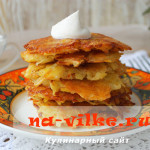 Рецепт вкусных драников из картошки и сыра