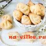 Печенье из творожного теста «гусиные лапки»