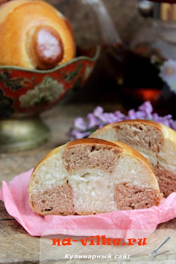 Ванильно-шоколадные булочки