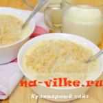 Как сварить молочную овсянку в мультиварке