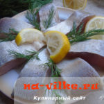 Простой и хороший способ приготовления маринованной пеляди