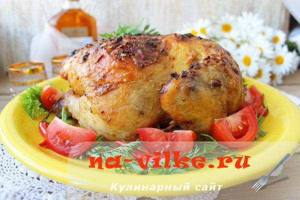 Запекаем вкусно курицу в духовке по домашнему рецепту