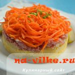 Миниатюра к статье Вкусные салаты с морковью и колбасой: самые популярные рецепты
