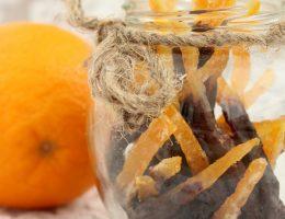Апельсиновые цукаты с шоколадом