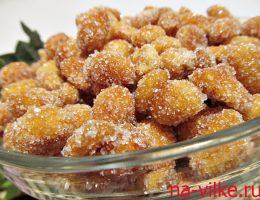 Арахис в сахарной глазури