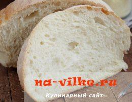 Пушистый хлеб с румяной корочкой в домашних условиях