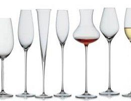 Фужеры для вина – формы, виды и назначение
