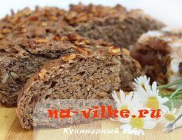 Злаковый хлеб Черный хомяк