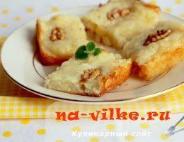 Рецепт гарисе – восточные сладости