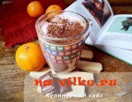 Горячий шоколад с мороженым
